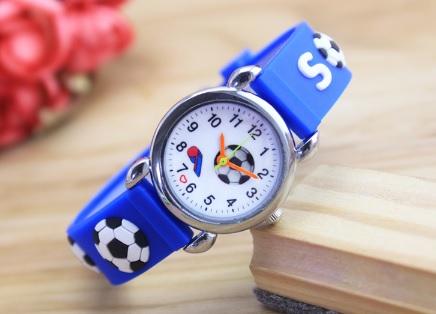 voetbal horlogeblauw fluitje